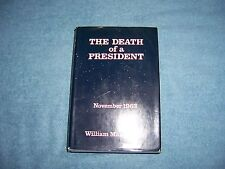 THE DEATH OF A PRESIDENT by William Manchester/1st Ed/HCDJ/Law & Government