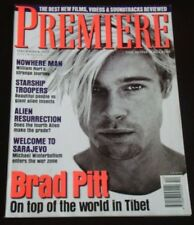 PREMIERE magazine, Brad Pitt, Starship Troopers, William Hurt, Kevin Smith, RARE