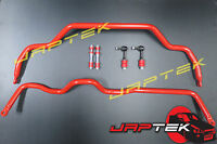 HD Performance Front & Rear Stabilizer Sway Bar Kit For Nissan S13 180sx Silvia