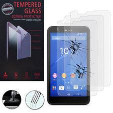 3X Safety Glass for Sony Xperia E4 E2104 E2105/Dual Genuine Screen Protector