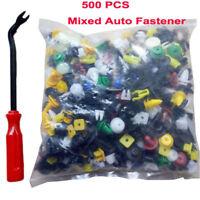 500X Car Plastic Trim Door Panel Retainer Clips Rivet Fastener Mud Flaps Push