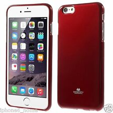 """Genuine MERCURY Goospery Red Soft Jelly Case Cover For iPhone 6/6s PLUS (5.5"""")"""