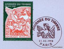 TYPE BLANC   FRANCE  Yt 3135 OBLITERATION 1er JOUR  NOTICE PHILATELIQUE