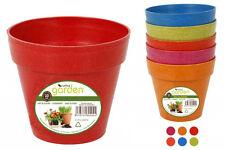 -SET OF 6-  10cm flowerpots flower pot garden home decor Bamboo