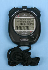 PROFESSIONAL SPLIT / LAP / PACER STOPWATCH with MEMORY