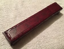 SET OF 5 PAIRS OF ORIENTAL CHOPSTICKS COMPLETE WITH WOODEN HOLDING CASE