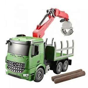 KIDS TOYS Double E Mercedes-Benz Crane Truck Radio Control Agricultural Series