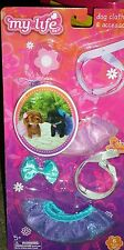 "My Life as Dog Clothes & Accessories for 18"" Doll's Pet tutu leashes toys friend"