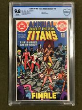 Tales Teen Titans Annual #3 Deathstroke 1984 Death Terra 2nd NIGHTWING CBCS 9.8