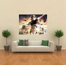 Star Wars frente de batalla Nuevo Gigante gran impresión de arte cartel Imagen Pared g573