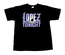 "Comedian Late night Talk Show Host ""GEORGE LOPEZ"" LOPEZ TONIGHT T-SHIRT NWORN L"