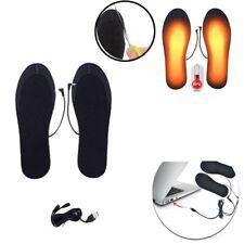 USB Electric Heated Shoe Insoles Warm Sock Feet Heater Foot Winter Warmer Pad RK