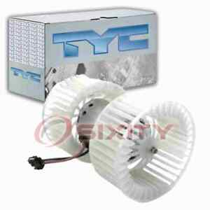 TYC Front HVAC Blower Motor for 1999-2001 BMW 323i Heating Air Conditioning ha