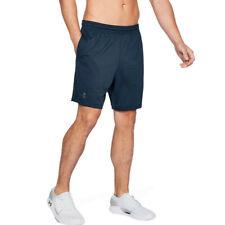 Under Armour Hombre MK-1 7 Inch Pantalones Cortos Azul Deporte Gimnasio