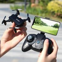 Foldable RC 4K FPV HD Camera Wifi Drone Selfie RC Helicopter S107 Mini Drone