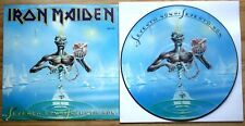 EX/EX Iron Maiden Seventh Son Of A 7th Son Vinyl LP Picture Disc
