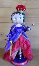 "Danbury Mint 13"" Tall Syd Hap Betty Boop Figurine Red Hat Society Royalty"
