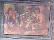 Native American female Adv. Print Rising Sun logo We have Varities Fountain Pen