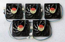 Thermaltake 80mm X 15mm fino tranquilo CPU fans 4 pines PWM 80x15mm