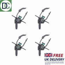 4 x Leak Off Connectors for Delphi Injectors in Mercedes C220 CDI