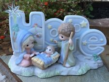 Precious Moments 'HOPE' 101047 Nativity Scene 2009 RARE