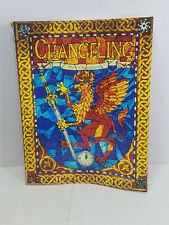 1995 White Wolf #7000 Changeling The Dreaming Role Playing Game VG condition
