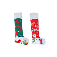 Giant Christmas Stocking- Santa and Snowman designs- extra-large (99cm)