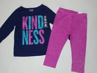Gymboree Girls Kindness Tee Leggings Jeans 18-24 Months 2T 3T NWT