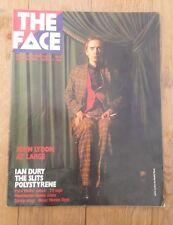 The Face ISSUE #8 : PIL IAN DURY SLITS POLYSTRENE PAUL WELLER