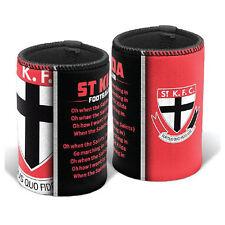 St Kilda Saints AFL Team Song Stubby Can Cooler **AFL OFFICIAL MERCHANDISE**