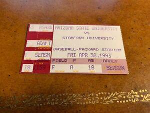 1993 Arizona State Sun Devils v Stanford Baseball Ticket Paul Lo Duca 4/30