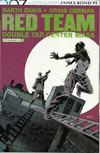Red Team Comic 7 Double Tap Center Mass Cover A First Print 2017 Garth Ennis