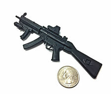 1/6 Scale MP5SD5 Submachine Gun SWAT H&K German Miniature Model Action Figure
