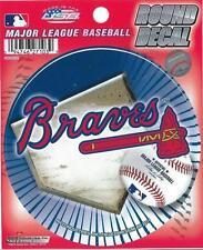 ATLANTA BRAVES OFFICIAL MLB VYNL STICKER / DECAL