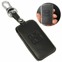 Keychain Car Leather Key Holder Remote Cover Case For Renault Kadjar 2016 2017