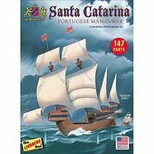Lindberg 202 Portuguese Carrack Santa Catarina sailing ship model kit 1/244