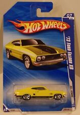 Hot Wheels 2010 All Stars '73 Ford Falcon XB in Yellow