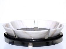 UP&UP Sergio Asti original marble fruitbowl italian design 80s rare piece