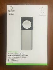 Belkin MFi Smart Watch Accessories Certified Portable Valet Charger 6700 mAh