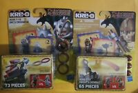 NIP Lot Of (2) KRE-O Dungeons & Dragons Sets ~ Knights Catapult & Orcs Crossbow