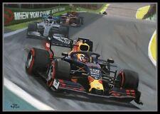 Painting 2019 Brazilian Grand Prix by Toon Nagtegaal