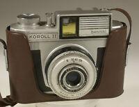 PRL) KOROLL II BENCINI ACROMATICO F.55 mm 1:8 FOTOCAMERA ANALOGICA COLLEZIONE