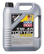 Liqui-Moly Top Tec 4100 5w40 Fully Synthetic Oil 5Ltr