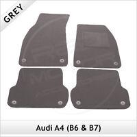 Audi A4 Avant Estate B6 2001-2005 Tailored Carpet Car Floor Mats GREY