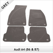 Audi A4 Avant Estate B6 2001-2005 Tailored Carpet Car Floor Mats GREY