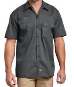 Dickies Short sleeve work shirt - Charcoal Grey BNWOT Size Large