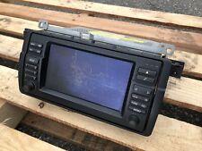 01-06 BMW E46 3 Series M3 Factory GPS Navigation Radio Scratches No Dead Pixels