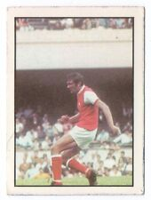 Panini Williams forlags sueca tarjeta de fútbol 1971 # 272 Peter Simpson Arsenal