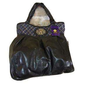 Mischa Barton Delilah Designer Leather Shopper Handbag Bag - Brand New