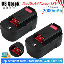 2Pack 18V Battery for Black&Decker HPB18 HPB18-OPE2 Firestorm 244760-00 FS18BX